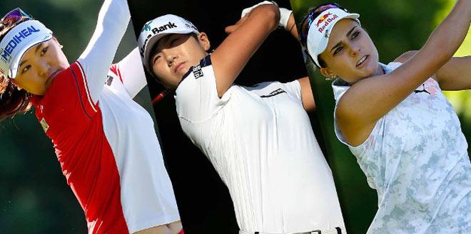 """Golf 24/7: """"Nữ quái"""" Trung Quốc nặng gần 90kg """"đè"""" 3 mỹ nhân 2"""
