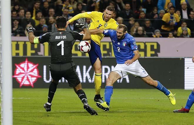 Italia - Thụy Điển: Lời nguyền Ibrahimovic & điểm tựa Lindelof 1