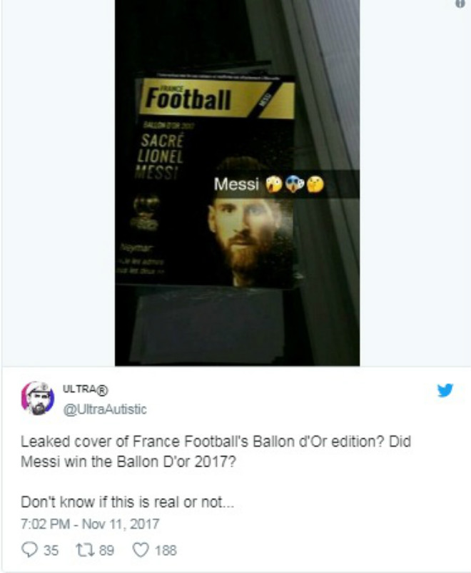 Rộ tin Messi hạ Ronaldo giành Quả bóng vàng, fan khẩu chiến - 2