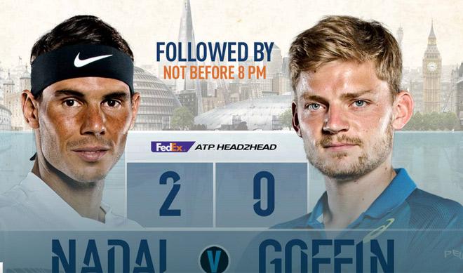 ATP Finals ngày 2: Nadal ra trận thị uy Federer, mơ vô địch 1