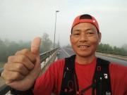 Người hùng  không phổi  chạy xuyên Việt 1.868km
