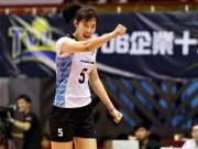 """Bóng chuyền: Thanh Thúy 20 tuổi 1m93, ghi 40 điểm  """" hủy diệt """"  đối thủ"""