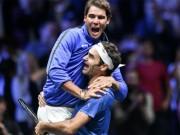 """Bảng xếp hạng tennis 13/11: Nadal  """" kê cao gối """"  xem Federer rượt đuổi"""
