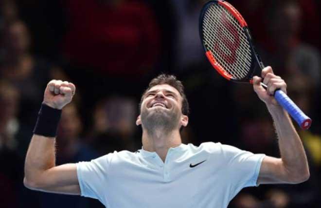 Thiem - Dimitrov: Set 3 căng tột độ (ATP Finals 2017) 1