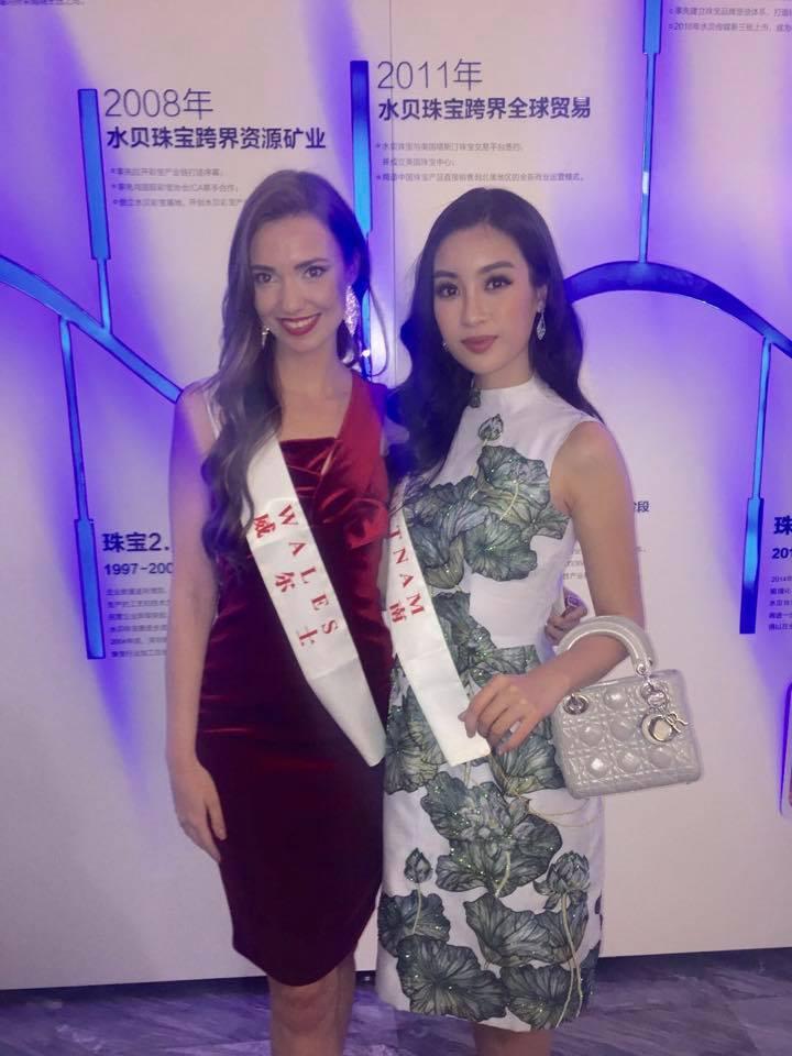Loạt ảnh ít ỏi của Mỹ Linh tại Hoa hậu Thế giới 2017 - 12