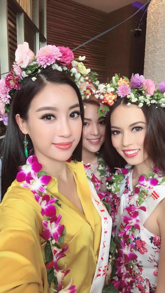 Loạt ảnh ít ỏi của Mỹ Linh tại Hoa hậu Thế giới 2017 - 7