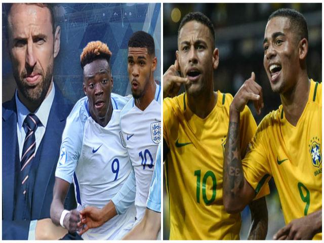 TRỰC TIẾP Anh - Brazil: Thế trận căng thẳng, chờ bàn bùng nổ 26
