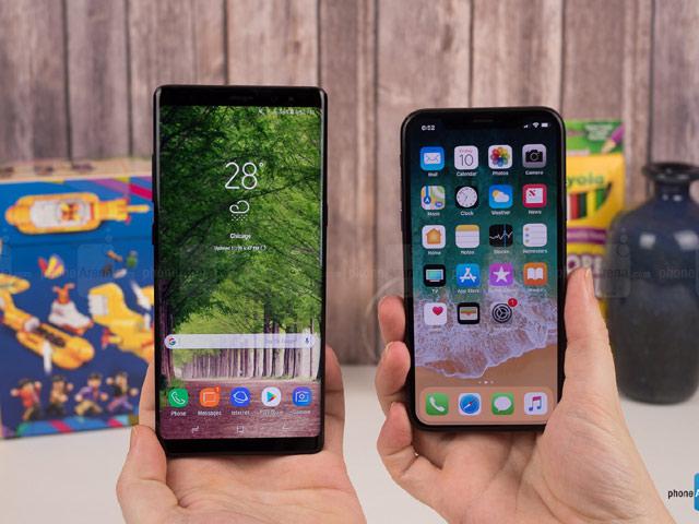 Doanh số mở bán Iphone X chỉ bằng một nửa Galaxy Note8 - 2