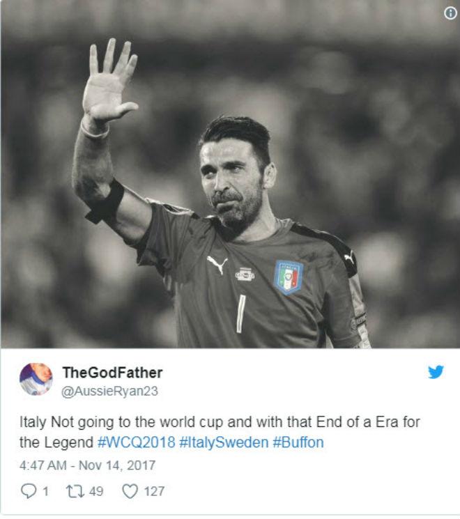 "Italia, Buffon lỡ World Cup: Triệu fan xót xa, ""cầu cứu"" Ancelotti - 3"