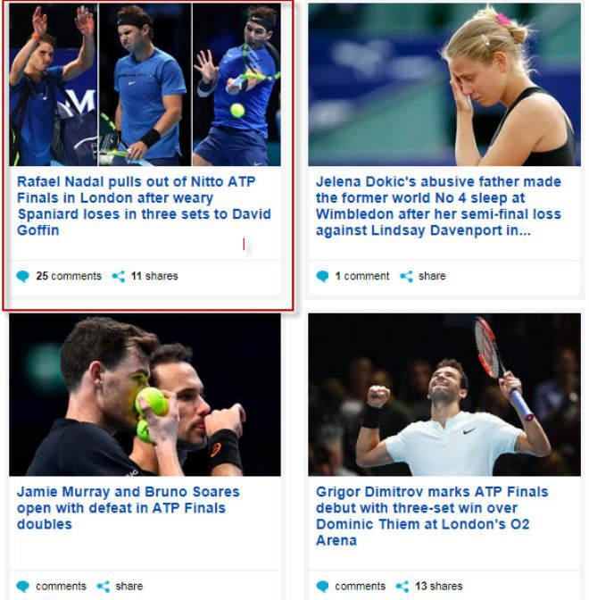 """Nadal chia tay ATP Finals: Báo chí """"cược tất tay"""" cho Federer 6"""