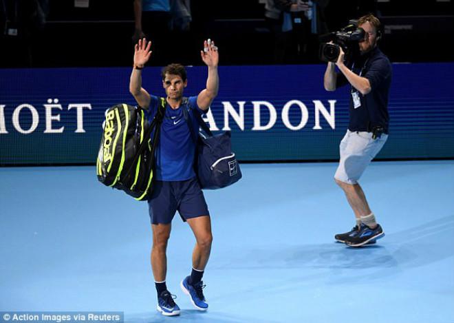 """Nadal chia tay ATP Finals: Báo chí """"cược tất tay"""" cho Federer 1"""