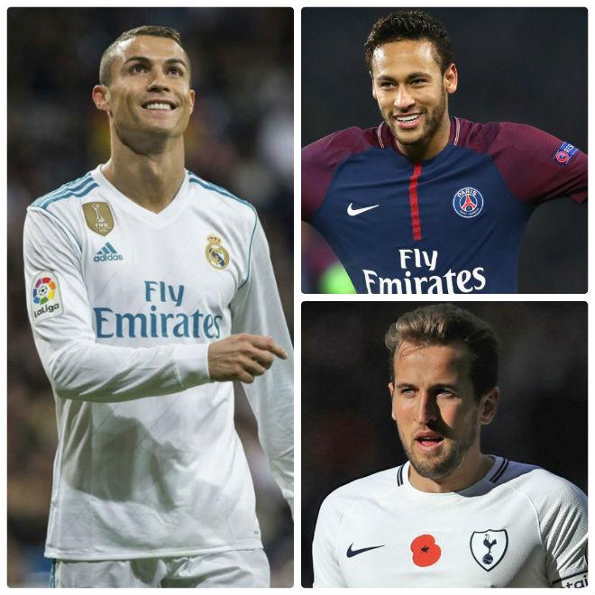 """Real mê mẩn Kane - Neymar: Ronaldo tuyệt vọng ra """"yêu sách"""" cuối"""
