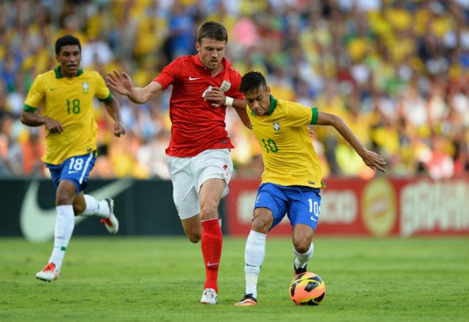 TRỰC TIẾP Anh - Brazil: Thế trận căng thẳng, chờ bàn bùng nổ 25