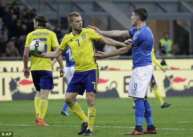 Italia - Thụy Điển: Bi kịch trọng tài, nghẹt thở phút cuối - 1