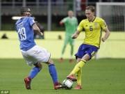 Bóng đá - Italia - Thụy Điển: Bi kịch trọng tài, nghẹt thở phút cuối