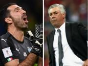 "Italia, Buffon lỡ World Cup: Triệu fan xót xa,  "" cầu cứu ""  Ancelotti"