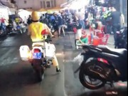 Tài xế ô tô lạng lách, chạy trốn CSGT gây náo loạn phố SG