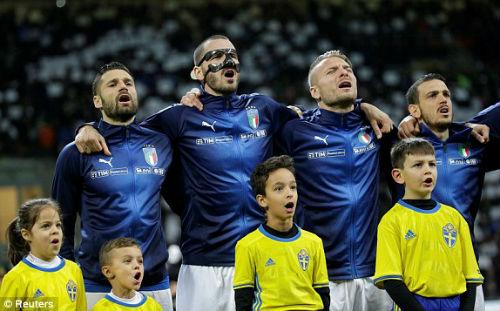 Chi tiết Italia - Thụy Điển: Nỗi đau khôn xiết (KT) 19
