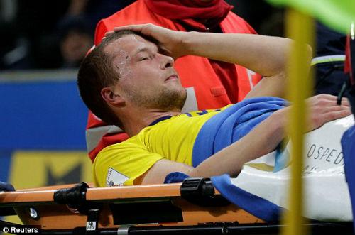 Chi tiết Italia - Thụy Điển: Nỗi đau khôn xiết (KT) 22
