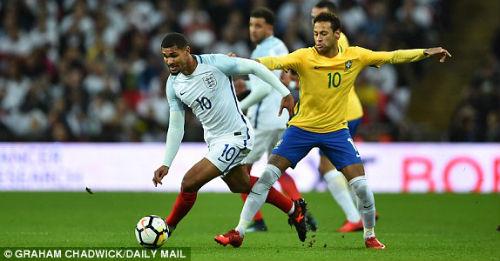 TRỰC TIẾP Anh - Brazil: Thế trận căng thẳng, chờ bàn bùng nổ 21