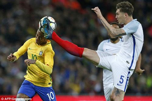 TRỰC TIẾP Anh - Brazil: Thế trận căng thẳng, chờ bàn bùng nổ 22