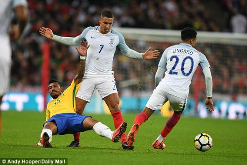 TRỰC TIẾP Anh - Brazil: Thế trận căng thẳng, chờ bàn bùng nổ 23