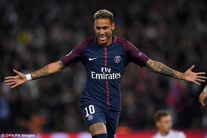 Ông hoàng lương bổng: Khủng khiếp Neymar hơn nửa triệu bảng/tuần - 1