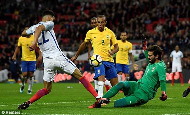 ĐT Anh - Brazil: Neymar đại chiến Rashford, kết quả khó ngờ 1