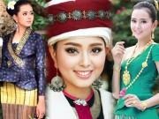 """Cô gái Lào 20 tuổi  """" xinh như tiên """"  khiến đàn ông châu Á lạc lối"""