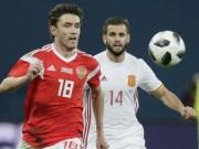 Bóng đá - ĐT Nga - Tây Ban Nha: 2 quả phạt đền, rượt đuổi gây sốc