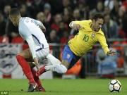 Bóng đá - ĐT Anh - Brazil: Neymar đại chiến Rashford, kết quả khó ngờ