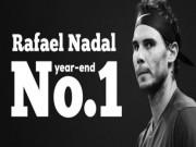 Nadal  thảm hại  tại ATP Finals: Vẫn may mắn nhất năm 2017