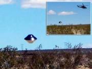 Hình ảnh rõ nét của UFO gần một căn cứ quân sự