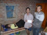 Nhà từ thiện bị lừa mất 49 triệu đồng tiền ủng hộ cho bà con vùng bão lũ