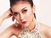"""Đôi mắt  """" rắn """"  vẫn lên ngôi Hoa hậu Quốc tế thuyết phục"""