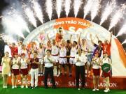 Giải bóng đá mini cúp Bia Sài Gòn 2017: Đậm đà tình bằng hữu