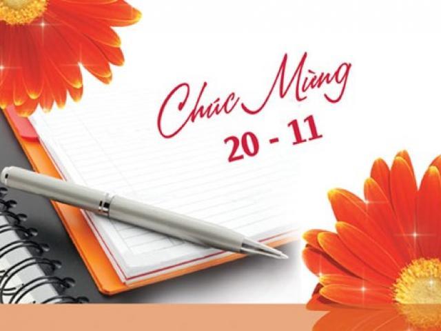 15 lời chúc dành cho thầy cô giáo nhân ngày 20/11