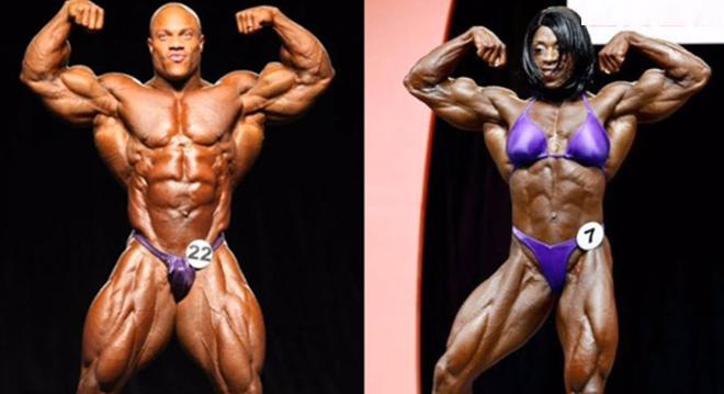 """Cặp """"khổng lồ"""" thể hình: Cơ bắp khủng khiếp, vô địch thiên hạ 1"""