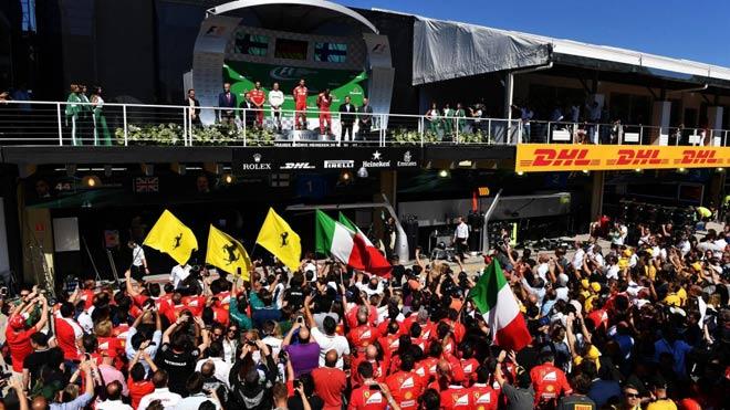 """Đua xe F1: """"Ngựa chiến"""" quần thảo, sắc đỏ bao trùm 1"""