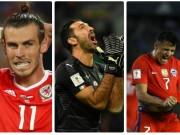 Dàn tinh tú  xem World Cup qua TV: Buffon nối gót buồn Bale, Sanchez