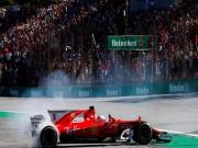"""Đua xe F1:  """" Ngựa chiến """"  quần thảo, sắc đỏ bao trùm"""