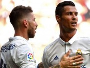 Đấu derby Madrid: Ronaldo  gây chiến  Ramos, Real đại loạn