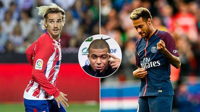 """Tin HOT bóng đá tối 17/11: Sếp Atletico đòi mua Neymar để """"chiều"""" Griezmann 1"""