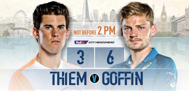"""ATP Finals ngày 6: Uy lực """"tiểu Federer"""", kịch chiến vé thứ hai 1"""