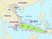 Áp thấp nhiệt đới khả năng thành bão, hướng vào Nam Bộ