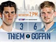 ATP Finals ngày 6: Uy lực  tiểu Federer , kịch chiến vé thứ hai