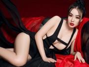"""Linh Miu tiếp tục gây sốc với bộ ảnh  """" hồ ly """"  cực sexy"""