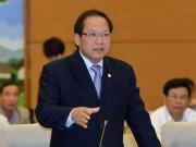 ĐBQH dồn dập chất vấn Bộ trưởng TT & TT Trương Minh Tuấn