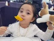 Hàng triệu người Hàn Quốc mê mẩn em bé xinh như búp bê này!