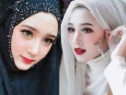 """"""" Hot girl Hồi giáo """"  đẹp hoàn hảo bất chấp khăn trùm đầu"""